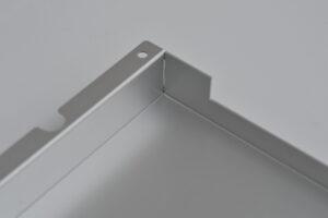 アルミ薄板溶接カバー