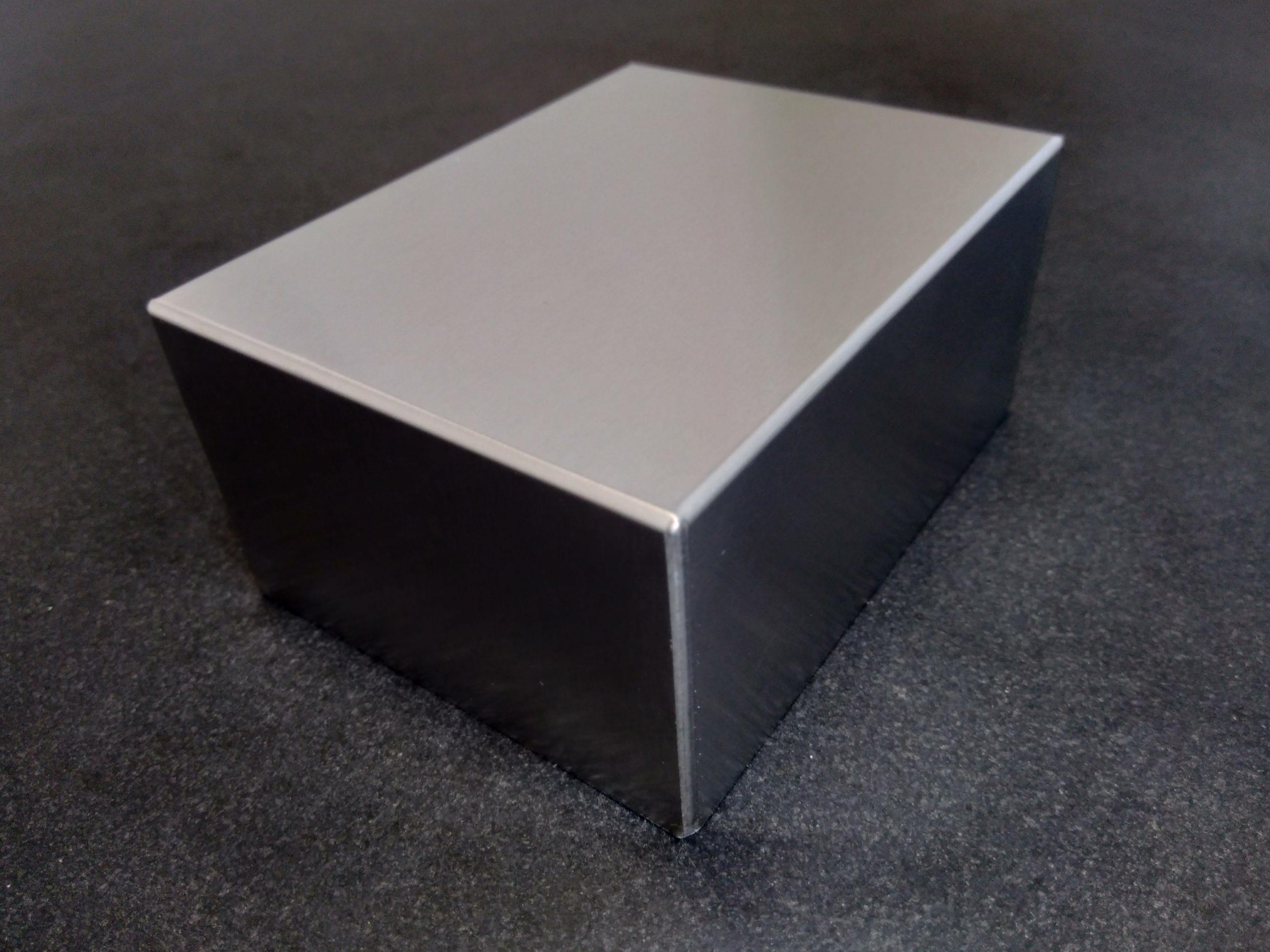 アルミ薄板溶接(溶接仕上げレス)