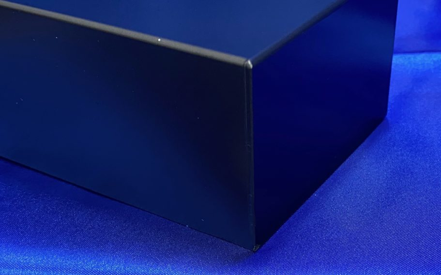 アルミ溶接カバー(黒アルマイト仕上げ)